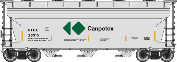 Canpotex Covered Hopper