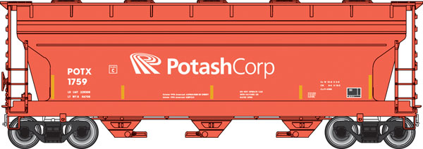 Potash Corp. Covered Hopper