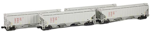 CNR Covered Hopper 4-Pack