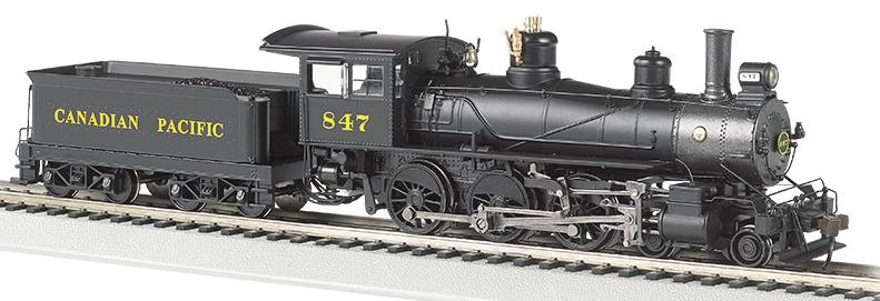 CPR 4-6-0 Steam Locomotive