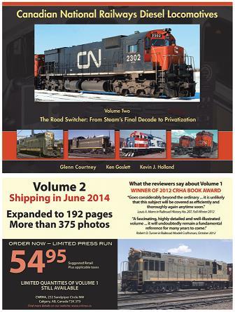 Canadian National Railways Diesel LocomotivesVolme 2 . The Road