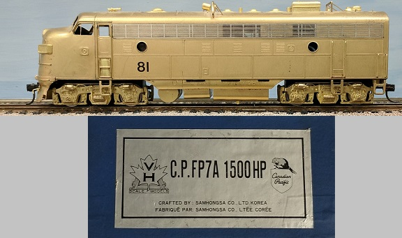 Canadian Pacific Railway - CPR FP7A