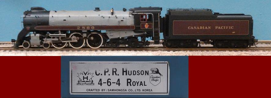 Canadian Pacific Railway - CPR Royal Hudson