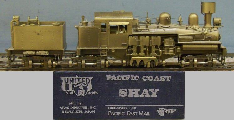 Undecorated - Pacific Coast Shay
