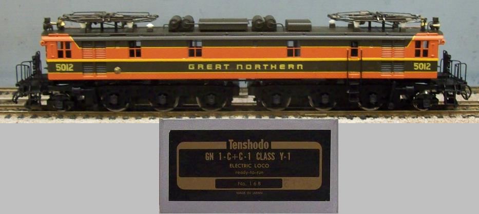 Great Northern Railroad - GN 1-C+C-1 Class Y-1 Electric