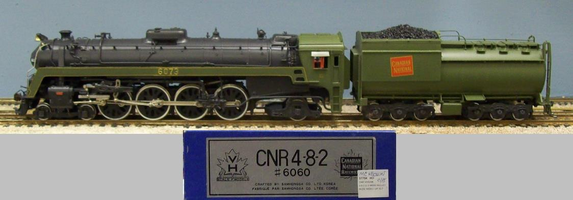 Canadian National Railway - CNR 6060 Class 4-8-2