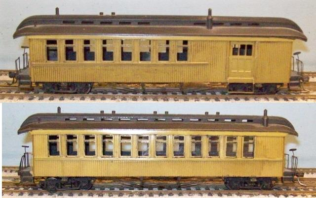 Denver & Rio Grande Western - D&RGW Sn3 Pagosa Junction  Passenger car set, Combine and Coach