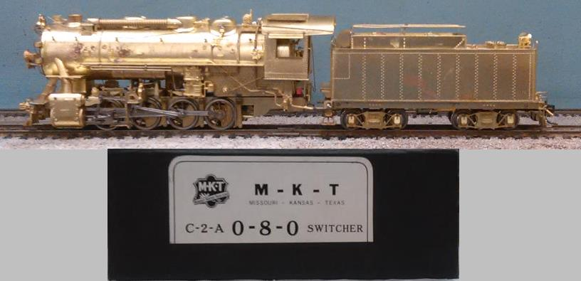 Missouri-Kansas-Texas - M-K-T Class C-2-A 0-8-0 SWITCHER