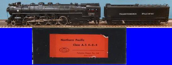 Northern Pacific - Northern Pacific Class A.5 4-8-4
