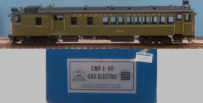 Canadian National Railway - CNR E-60 Gas Electric