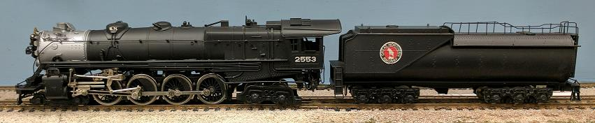 Great Northern Railroad - GNR 4-8-4 Class S-1 (De Luxe)