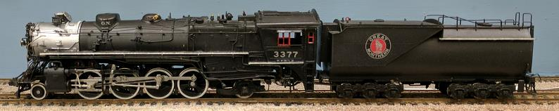Great Northern Railway - Great Northern O-8 2-8-2 (Closed