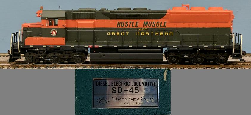 Great Northern Railway - SD-45 Hustle Muscle