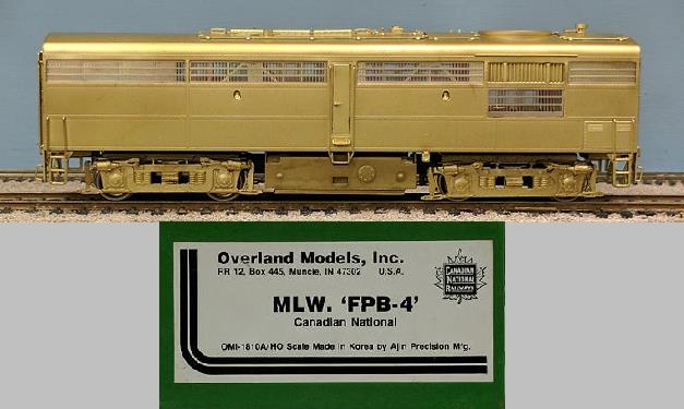Canadian National Railway - MLW FPB-4