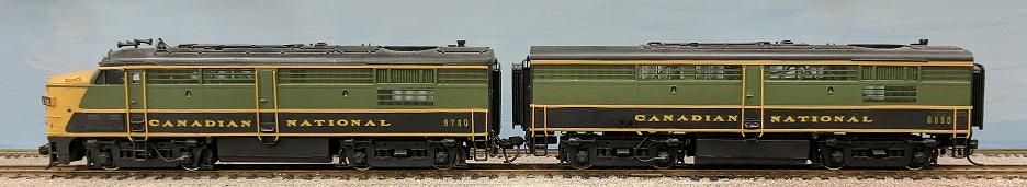 Canadian National Railway - Canadian National FPA4 + FBP-