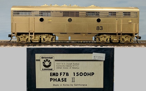 Canadian Pacific Railway - EMD F7B Phase II