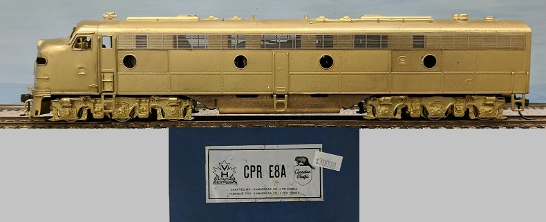 Canadian Pacific Railway - CPR E8A 1800-1802