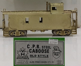Canadian Pacific Railway - CPR Steel Caboose