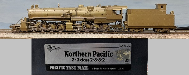 Northern Pacific - Northern Pacific Z-3 Class 2-8-8-2