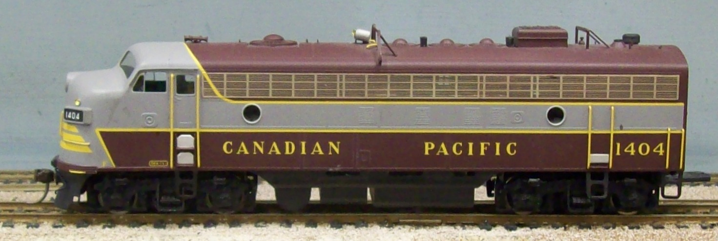 Canadian Pacific Railway - Canadian Pacific Railway FP7A  - Block Lettering