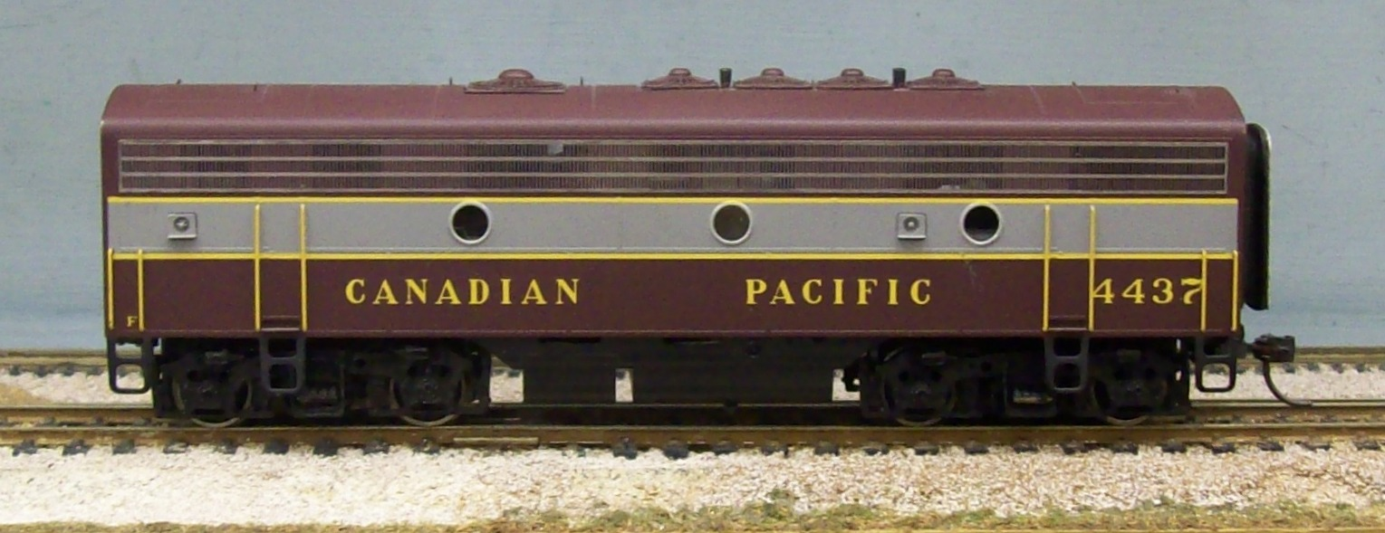 Canadian Pacific Railway - Canadian Pacific Railway F7B - Block Lettering