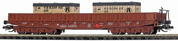 TT-Scale Gondola with Containers.