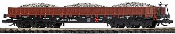TT-Scale Gondola with Gravel Load .