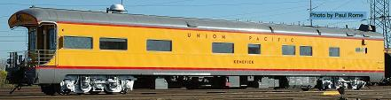 UP Excursion Train Business car