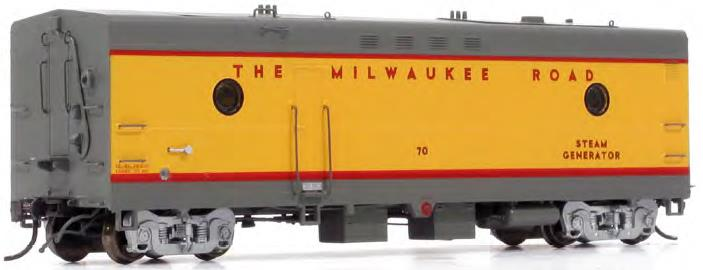 Milwaukee road 1950 Scheme