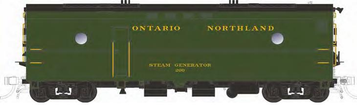 Ontario Northland Green