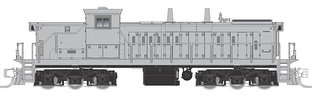 1600 Series Undecorated GMD-1