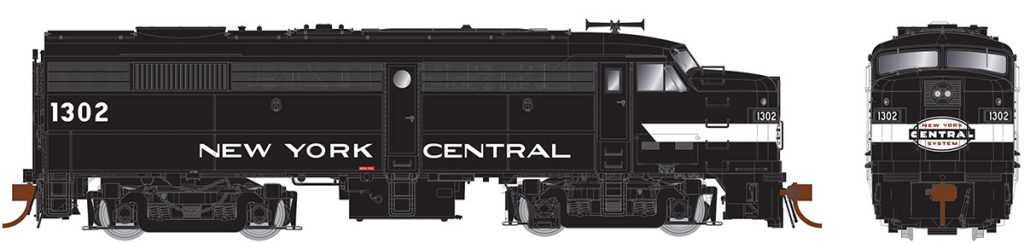 Central Hobbies Rapido Trains HO Scale Locomotives Page on