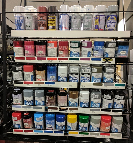 Central Hobbies Paint Page