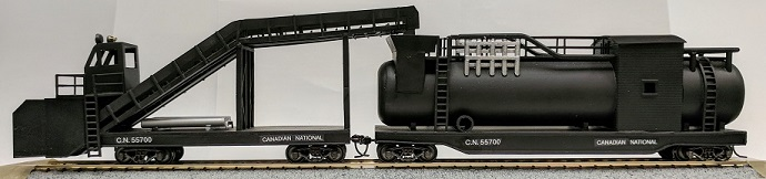 HO Scale CNR Snow melter
