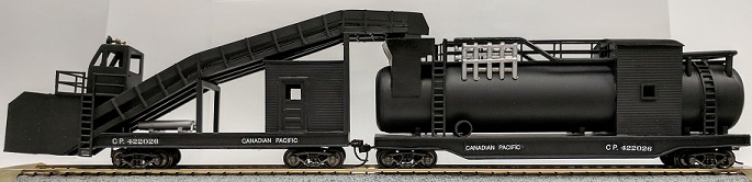 HO Scale CPR Snow melter