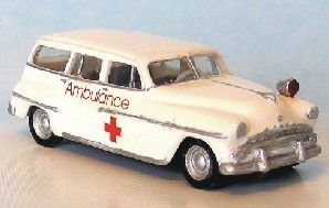 1951 DODGE CORONET SIERRA AMBULANCE